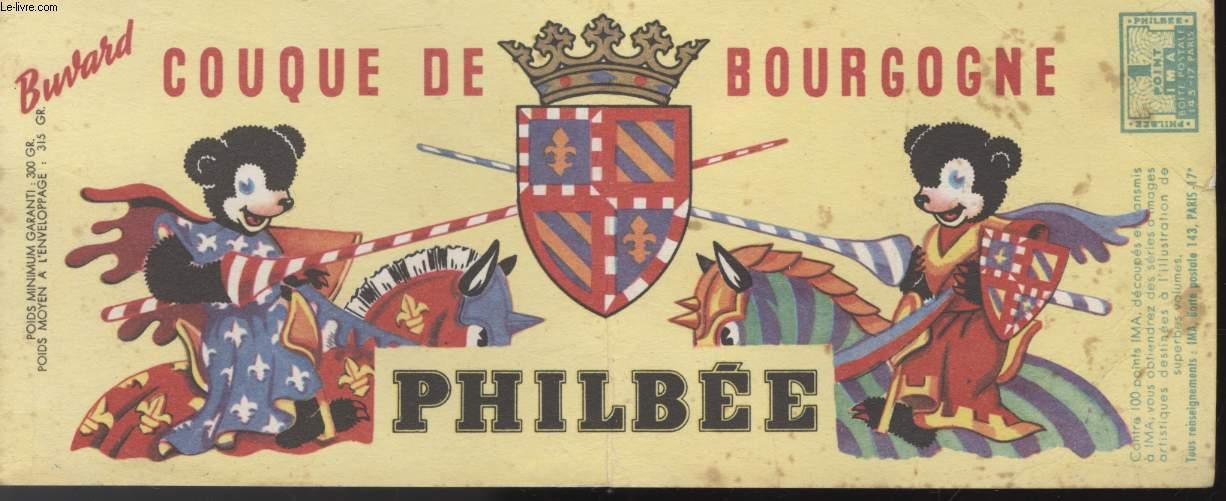 BUVARD - COUQUE DE BOURGOGNE - PHILBEE