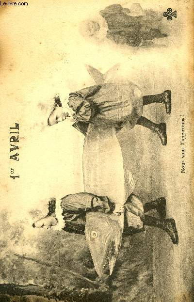 CARTE POSTALE - 1° AVRIL