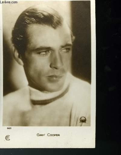 CARTE POSTALE - GARY COOPER