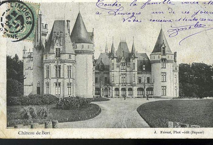 CARTE POSTALE - CHATEAU DE BORT