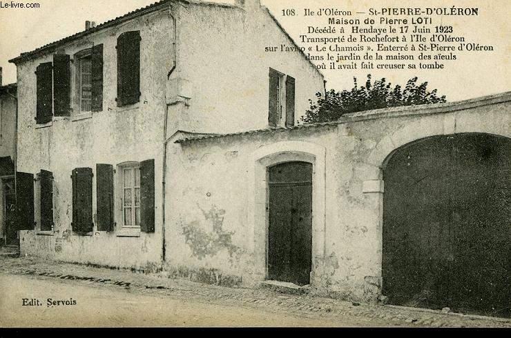 CARTE POSTALE - ILE D'OLERON - ST PIERRE D'OLERON