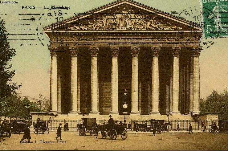 CARTE POSTALE - PARIS - LA MADELEINE