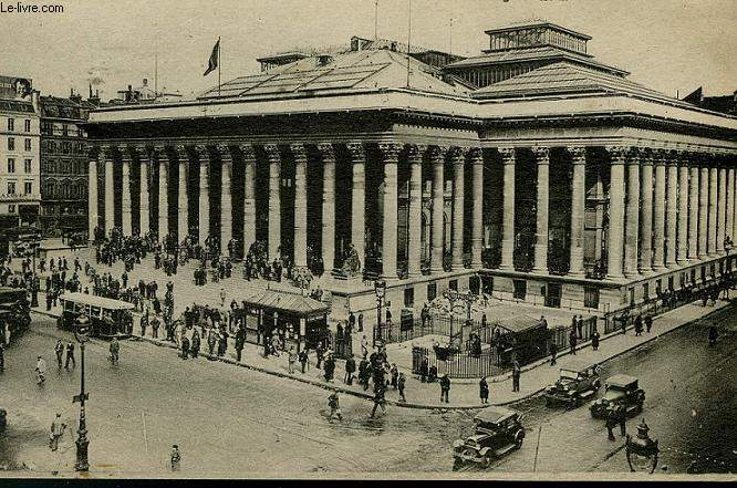 CARTE POSTALE - 15 - PARIS - LA BOURSE