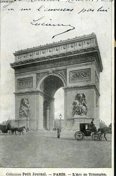 CARTE POSTALE - PARIS - L'ARC DE TRIOMPHE