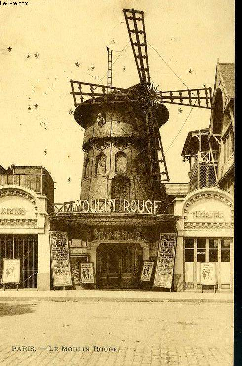 CARTE POSTALE -  PARIS - LE MOULIN ROUGE