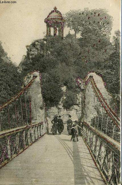 CARTE POSTALE - 107 - PARIS - BUTTES CHAUMONT - PONT SUSPENDU