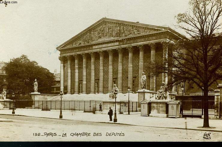 CARTE POSTALE - 192 - PARIS - LA CHAMBRE DES DEPUTES