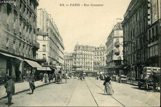 CARTE POSTALE - 413 - PARIE - RUE CROZATIER
