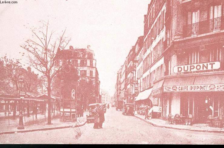 CARTE POSTALE - PARIS - RUE COMPANS - PLACE DES FETES