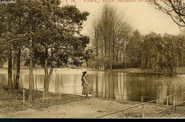 CARTE POSTALE - 38 - PARIS - LE LAC DAUMESNIL AU BAS DE VINCENNES