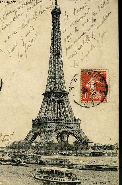 CARTE POSTALE - PARIS - LA TOUR EIFFEL