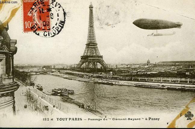 CARTE POSTALE - 182 - TOUT PARIS - PASSAGE DU CLEMENT-BAYARD A PASSY