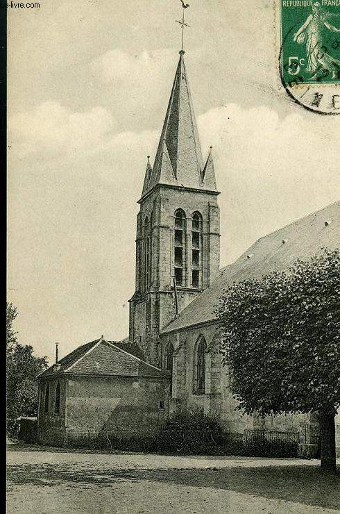 CARTE POSTALE - 16 - ANTONY  LE CLOCHER DE L'EGLISE