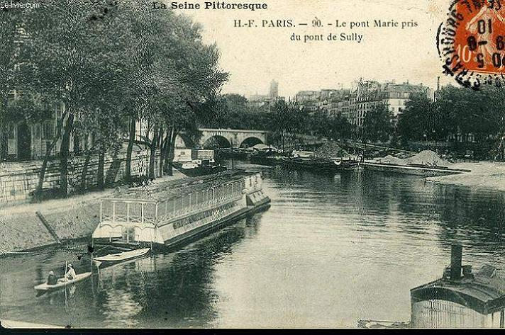CARTE POSTALE - LA SEINE PITTORESQUE