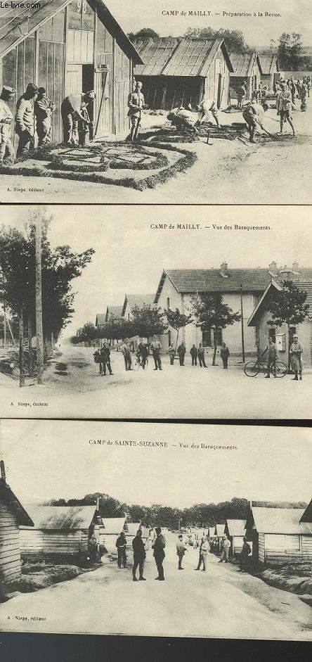 CARTE POSTALE - CAMP DE MAILLY