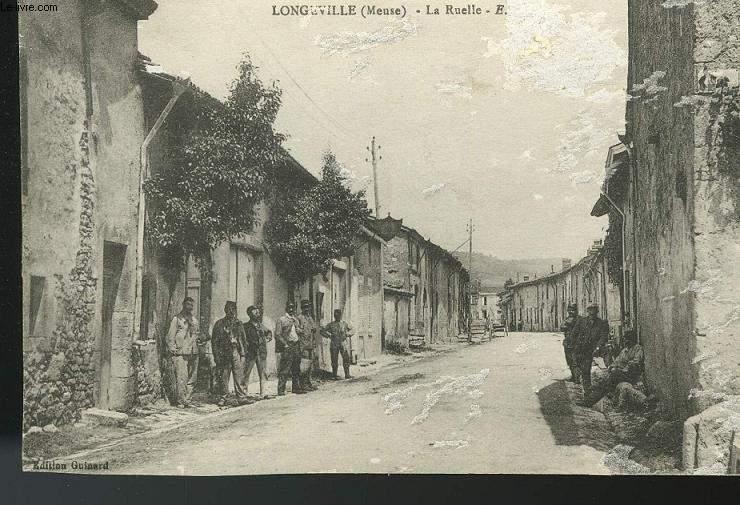 CARTE POSTALE - LONGEVILLE - LA RUELLE