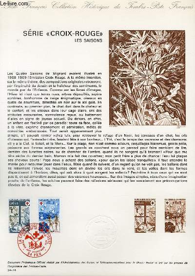 DOCUMENT PHILATELIQUE OFFICIEL N°34-74 - SERIE