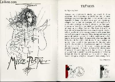 DOCUMENT PHILATELIQUE OFFICIEL N�34-77 - TREMOIS (N�1950 YVERT ET TELLIER)