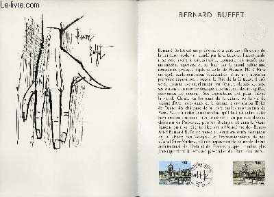 DOCUMENT PHILATELIQUE OFFICIEL N°06-78 - BERNARD BUFFET (N°1994 YVERT ET TELLIER)