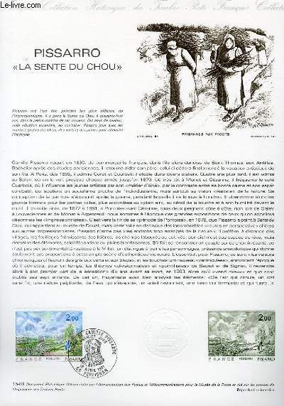 DOCUMENT PHILATELIQUE OFFICIEL N°15-81 - PISSARRO