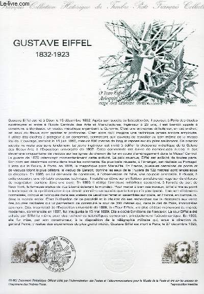 DOCUMENT PHILATELIQUE OFFICIEL N°45-85 - GUSTAVE EIFFEL 1832-1923 (N°2230 YVERT ET TELLIER)