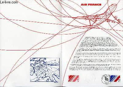 DOCUMENT PHILATELIQUE OFFICIEL N°24-83 - AIR-FRANCE (N°2278 YVERT ET TELLIER)