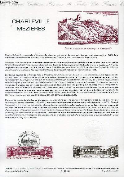 DOCUMENT PHILATELIQUE OFFICIEL N°30-83 - CHARLEVILLE MEZIERES (N°2288 YVERT ET TELLIER)