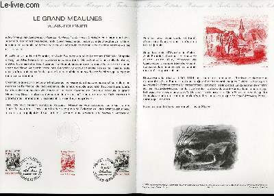 DOCUMENT PHILATELIQUE OFFICIEL N°37-86 - LE GRAND MEAULNES ALAIN FOURNIER  (N°2443 YVERT ET TELLIER)