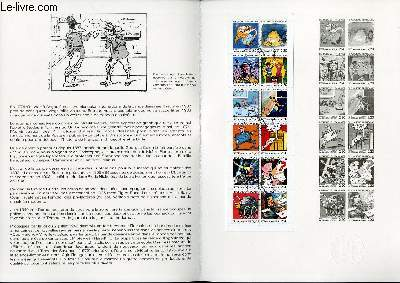 DOCUMENT PHILATELIQUE OFFICIEL N�03-88 - LA BANDE DESSINEE FRANCAISE (N�2515 YVERT ET TELLIER)
