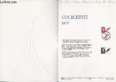 DOCUMENT PHILATELIQUE OFFICIEL N°39-90 - JEUX OLYMPIQUES - COURCHEVEL SAUT (N°2674 YVERT ET TELLIER)