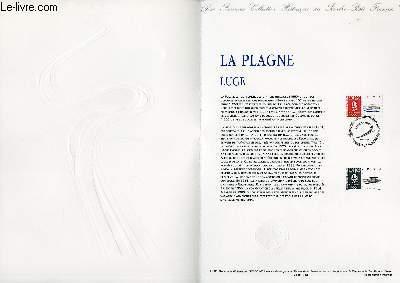 DOCUMENT PHILATELIQUE OFFICIEL N°11-91 - JEUX OLYMPIQUES - LA PLAGNE - LUGE (N°2679 YVERT ET TELLIER)