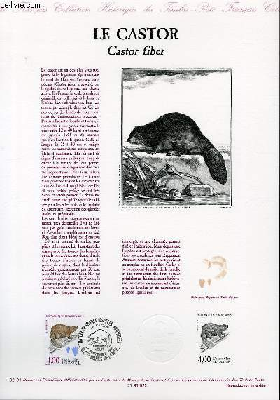 DOCUMENT PHILATELIQUE OFFICIEL N°31-91 - LA TORTUE TERRESTRE - TESTUDO HERMANNI (N°2722 YVERT ET TELLIER)