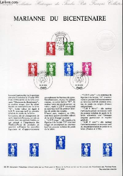 DOCUMENT PHILATELIQUE OFFICIEL N°34-91 - 10° CONGRES FORESTIER MONDIAL - LA FORET, PATRIMOINE DE L'AVENIR