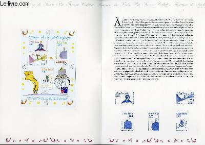 DOCUMENT PHILATELIQUE OFFICIEL - ANTOINE DE SAINT-EXUPERY - LE PETIT PRINCE - PHILECFRANCE 99 (N°BF 20 YVERT ET TELLIER)