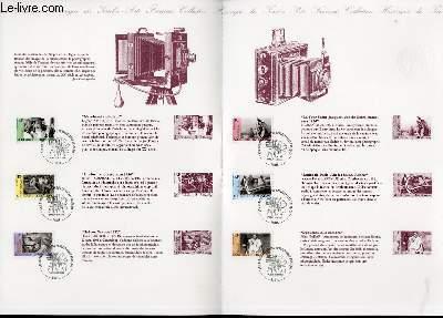 DOCUMENT PHILATELIQUE OFFICIEL - LES OEUVRES DES GRANDS PHOTOGRAPHES FRANCAIS (N�3262-3267 YVERT ET TELLIER)