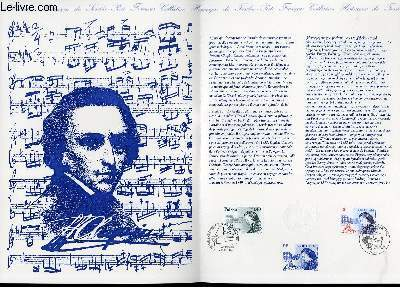 DOCUMENT PHILATELIQUE OFFICIEL - FREDERIC CHOPIN 1810-1849 (N°3287 YVERT ET TELLIER)