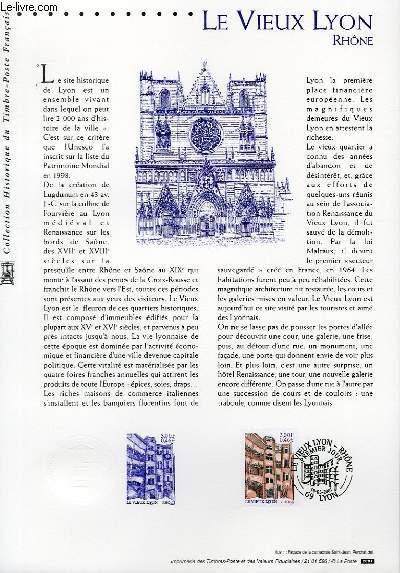DOCUMENT PHILATELIQUE OFFICIEL - LE VIEUX LYON - RHONE (N�3390 YVERT ET TELLIER)