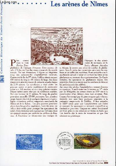 DOCUMENT PHILATELIQUE OFFICIEL - LES ARENES DE NIMES (N°3470 YVERT ET TELLIER)