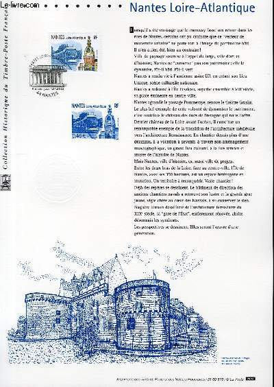 DOCUMENT PHILATELIQUE OFFICIEL - NANTES LOIRE-ATLANTIQUE (N�3552 YVERT ET TELLIER)