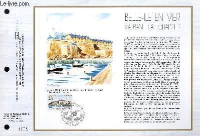 FEUILLET ARTISTIQUE PHILATELIQUE - CEF - N° 724 - BELLE ILE EN MER - VAUBAN LA CITADELLE