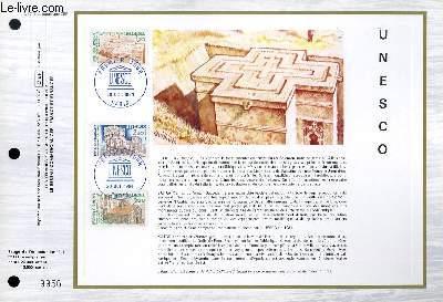 FEUILLET ARTISTIQUE PHILATELIQUE - CEF - N� 746 - UNESCO