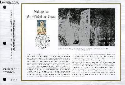 FEUILLET ARTISTIQUE PHILATELIQUE - CEF - N° 780 - ABBAYE DE ST MICHEL DE CUXA