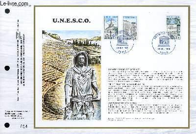 FEUILLET ARTISTIQUE PHILATELIQUE - CEF - N° 791 - UNESCO