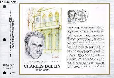 FEUILLET ARTISTIQUE PHILATELIQUE - CEF - N� 793 - CHARLES DULLIN 1885-1949