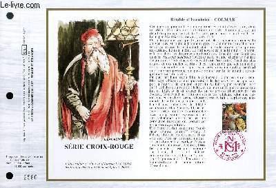 FEUILLET ARTISTIQUE PHILATELIQUE - CEF - N° 795 - RETABLE D'ISSENHEIM - COLMAR