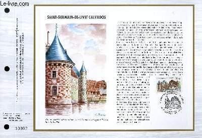 FEUILLET ARTISTIQUE PHILATELIQUE - CEF - N° 806 - SAINT GERMAIN DE LIVET CALVADOS