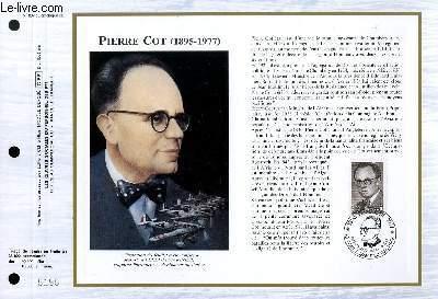 FEUILLET ARTISTIQUE PHILATELIQUE - CEF - N� 807 - PIERRO COT (1895-1977)