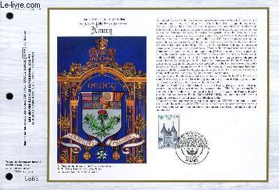 FEUILLET ARTISTIQUE PHILATELIQUE - CEF - N° 817 - CONGRES NATIONAL DE LA FEDERATION DES SOCIETES PHILATELIQUES FRANCAISES - NANCY