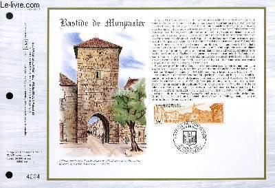 FEUILLET ARTISTIQUE PHILATELIQUE - CEF - N° 822 - BASTIDE DE MONPAZIER