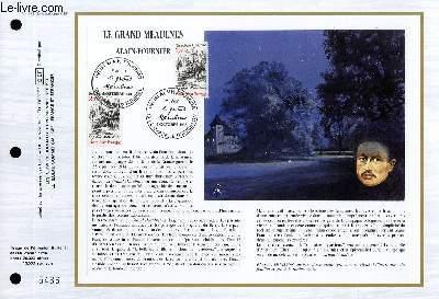 FEUILLET ARTISTIQUE PHILATELIQUE - CEF - N° 833 - LA GRAND MEAULNES - ALAIN FOURNIER